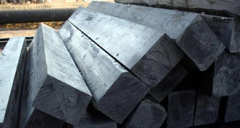 шпала деревянная обрезная непропитанная тип 1А